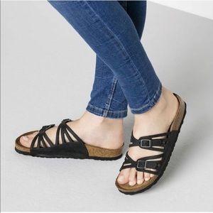 Birkenstock Granada Soft Footbed Leather Sandal 36